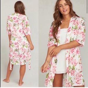 Show Me Your Mumu Brie Floral Garden Blooms Robe